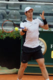 Andy Murray (GBR). ROME, ITALY - MAY 11, 2016: Andy Murray (GBR) during his match against Mikhail Kukushkin at the Internazionali BNL d'Italia in Rome, Italy Royalty Free Stock Photography