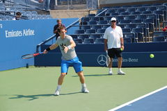 Andy Murray and Ivan Lendl Royalty Free Stock Photography