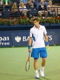 Andy Murray no campeonato do tênis de Dubai Foto de Stock Royalty Free