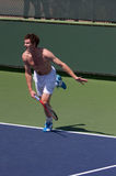 Andy Murray Practice serve Royalty Free Stock Photos