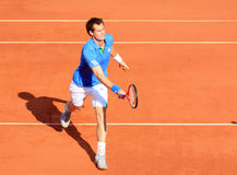 Andy Murray at Roland Garros in 2011 Royalty Free Stock Photos