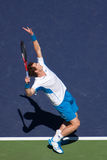 Andy Murray serve 1 Stock Images
