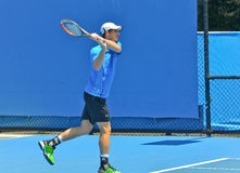 Andy Murray som spelar i det australiskt, öppnar Arkivbilder