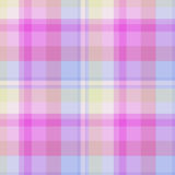 Сandy pastel plaid Royalty Free Stock Image