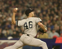 Andy Pettitte, Game 5, 2000 World Series Royalty Free Stock Photo