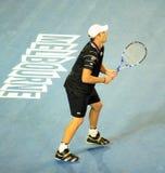 Andy Roddick à l'australien ouvrent 2010 Photographie stock