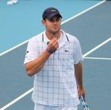 Andy Roddick (ΗΠΑ), επαγγελματικός τενίστας Στοκ Εικόνες