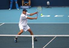 Andy Roddick (ΗΠΑ), επαγγελματικός τενίστας Στοκ φωτογραφίες με δικαίωμα ελεύθερης χρήσης