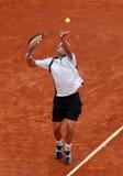 Andy Roddick (Etats-Unis) chez Roland Garros 2009 Photos stock