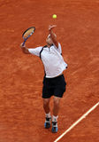 Andy Roddick (USA) at Roland Garros 2009 Stock Photos