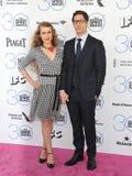 Andy Samberg & Ιωάννα Newsom Στοκ Φωτογραφίες