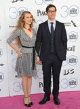 Andy Samberg & Ιωάννα Newsom Στοκ εικόνες με δικαίωμα ελεύθερης χρήσης