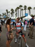 Andy Schleck 2013 turnerar av Kalifornien Royaltyfria Bilder