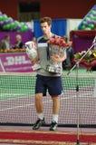 Andy van Murray de winnaar SPb opent 2008 Royalty-vrije Stock Afbeelding