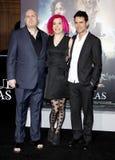 Andy Wachowski, Lana Wachowski και Tom Tykwer Στοκ εικόνα με δικαίωμα ελεύθερης χρήσης