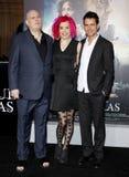 Andy Wachowski, Lana Wachowski και Tom Tykwer Στοκ φωτογραφίες με δικαίωμα ελεύθερης χρήσης
