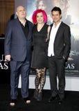 Andy Wachowski, Lana Wachowski en Tom Tykwer royalty-vrije stock afbeeldingen