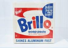 Andy Warhol, κιβώτιο μαξιλαριών σαπουνιών Brillo, Moderna Museet στοκ φωτογραφίες με δικαίωμα ελεύθερης χρήσης