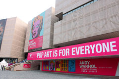 Andy Warhol Exhibition in Hong Kong Royalty Free Stock Photos