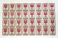 Andy Warhol--From A To B And Back Again At Whitney Museum Stock Image