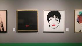 Andy Warhol Liza Minnelli fotografia stock libera da diritti