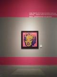 Andy Warhol Marilyn Monroe immagini stock libere da diritti