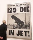 Andy Warhol--Od A b Znowu I plecy przy Whitney muzeum obrazy royalty free