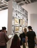 Andy Warhol--Od A b Znowu I plecy przy Whitney muzeum zdjęcie royalty free