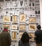 Andy Warhol--Od A b Znowu I plecy przy Whitney muzeum obrazy stock