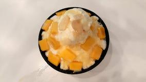 andyummy muy dulce del bingsu del mango Foto de archivo libre de regalías