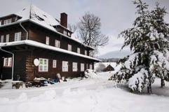 Andzrzejowka hostel in Poland Stock Image