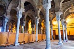 Anecdotarios del ibn de Malik de la mezquita en Cartago fotos de archivo libres de regalías