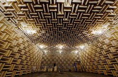 Anechoic chamber Stock Photography