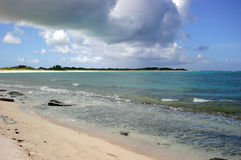 Anegada Island Beach Stock Photo