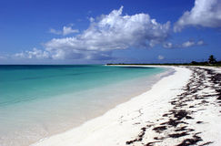 Anegada Island Beach Stock Photos