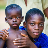 ANEHO的人们,多哥 免版税图库摄影