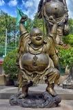Anek Kuson Sala芭达亚, Viharn Sien是美好的中国人t 库存照片
