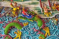 Anek Kuson Sala Pattaya,The Viharn Sien is a beautiful Chinese t. Thailand, Pattaya 30,06,2017 Anek Kuson Sala Pattaya,The Viharn Sien is a beautiful Chinese royalty free stock image