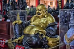 Anek Kuson Sala Pattaya,The Viharn Sien is a beautiful Chinese t royalty free stock photo