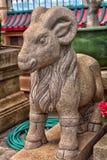 Anek Kuson Sala Pattaya Viharnen Sien är en härlig kines t Arkivbild