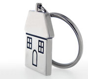 Anel chave da casa Fotografia de Stock