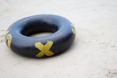 anel da nadada na praia Fotos de Stock