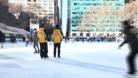 Anel da patinagem no gelo filme