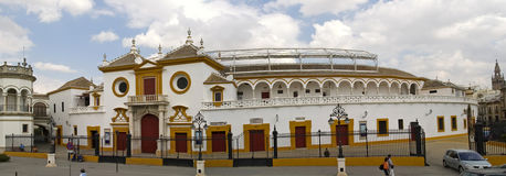 Anel de Bull em Sevilha imagens de stock royalty free
