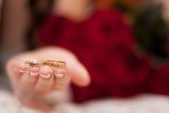 Anel de casamento Imagem de Stock Royalty Free