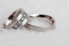 Anel de casamento 2 Fotos de Stock Royalty Free