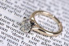 Anel de casamento Fotos de Stock
