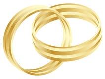Anel de casamento ilustração do vetor