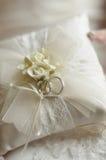 Anel de casamento Fotografia de Stock