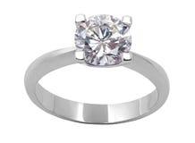 Anel de diamante Foto de Stock Royalty Free